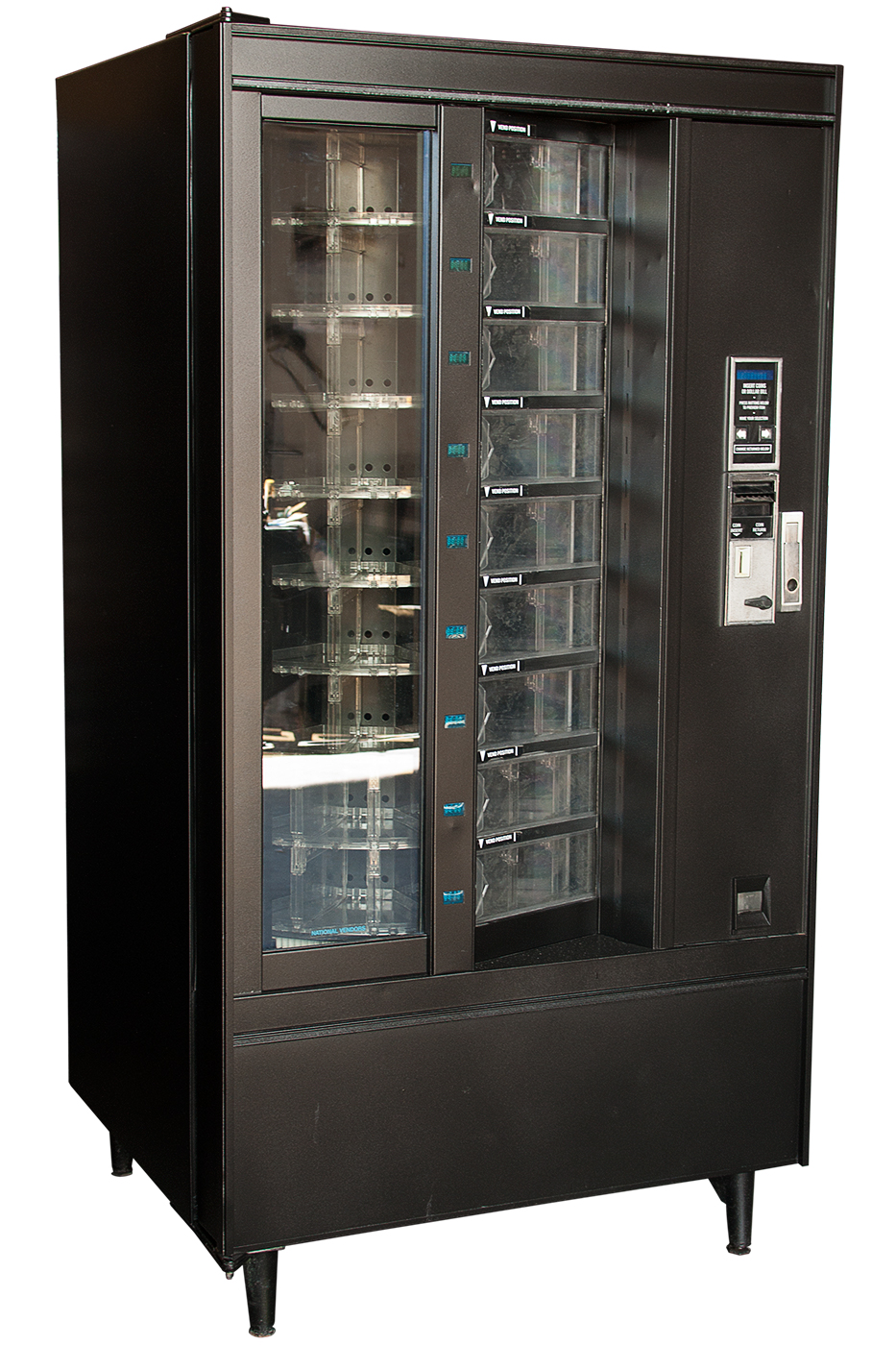 Westway Vending - Front View Rotating Cold Food Vending Machine