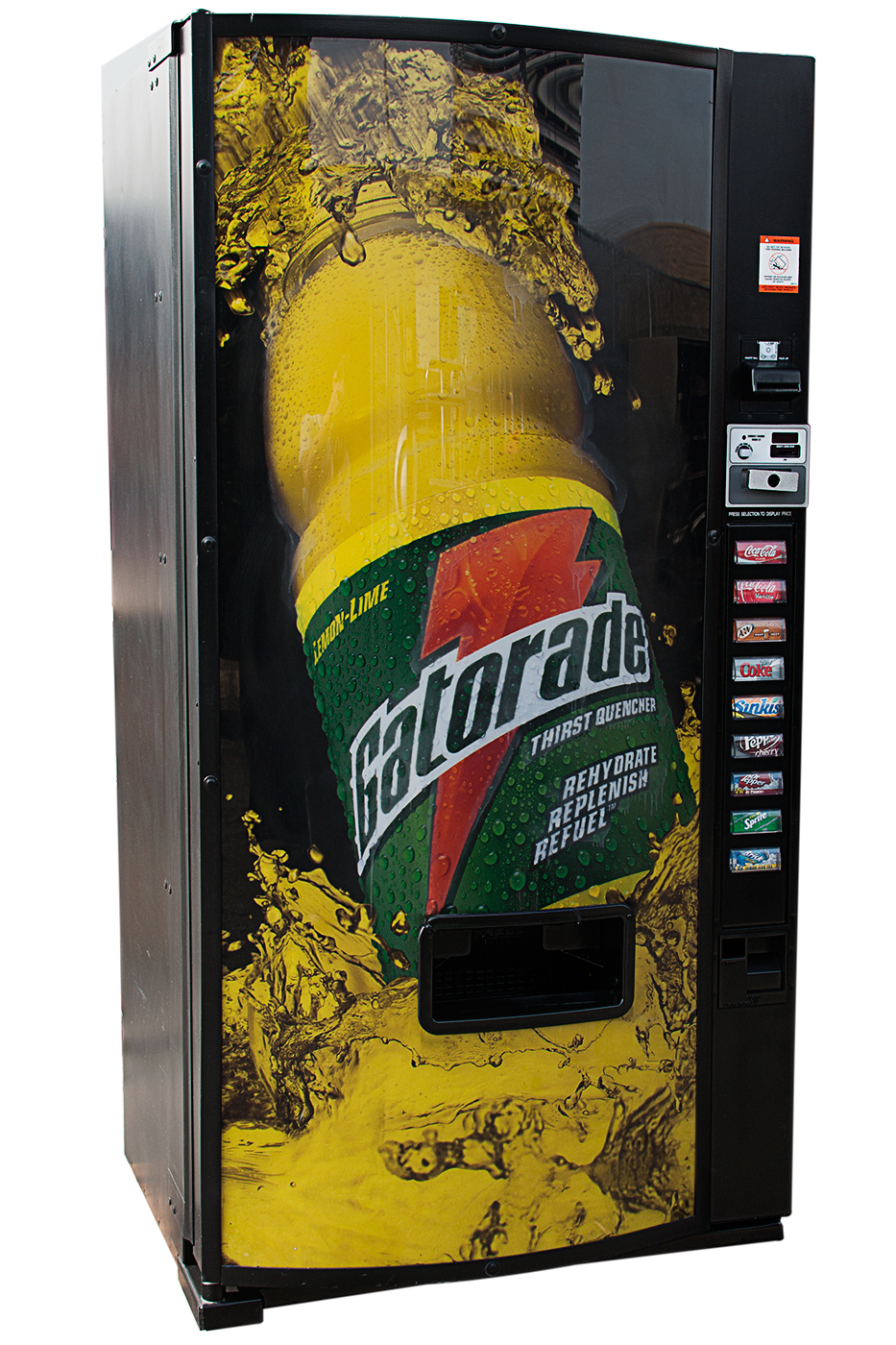 Gatorade multi price vending machine - product detail