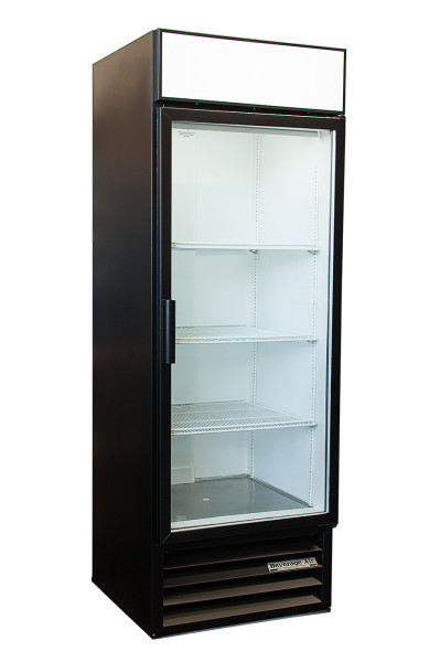 Side view One door Beverage MT-21 Merchandiser